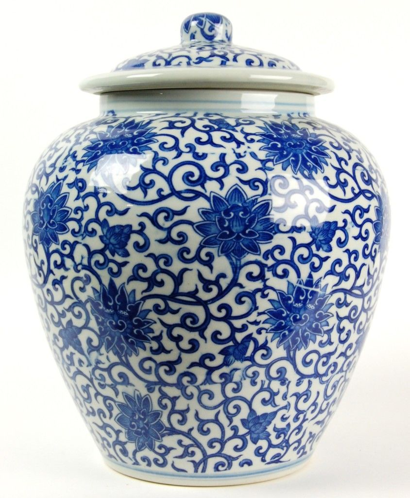 blue white chinese porcelain vases porcelain jars. Black Bedroom Furniture Sets. Home Design Ideas