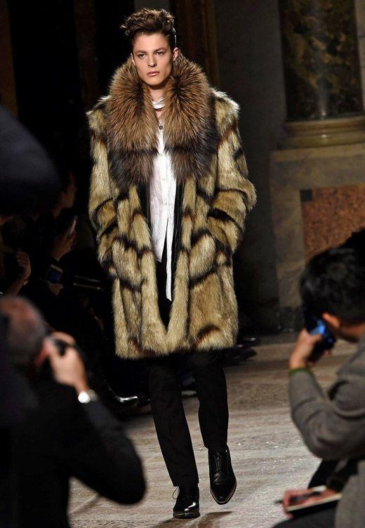Roberto Cavalli Fall-Winter 2015 2016 collection at Milan men s fashion week 4330fa4932