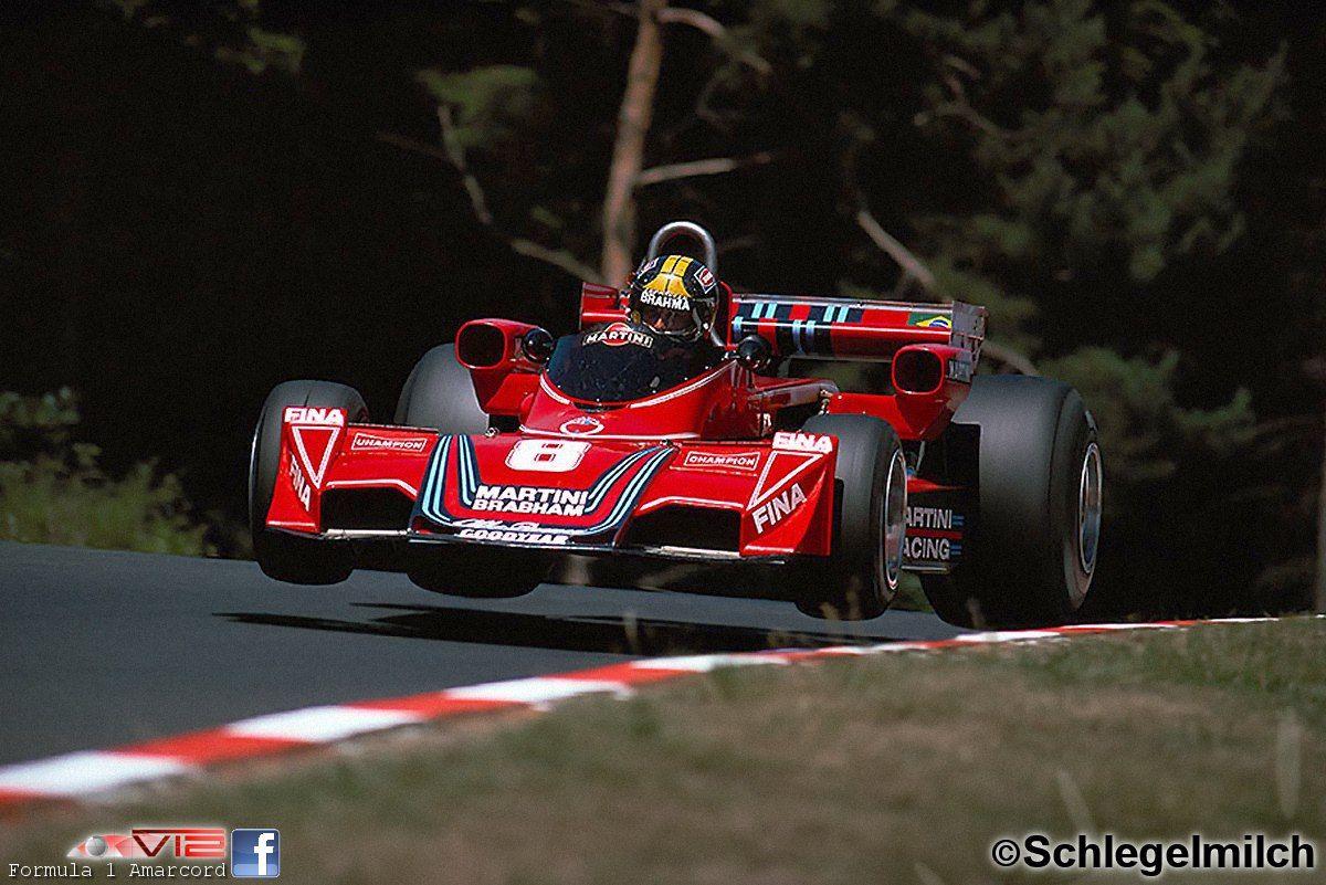 1976 Brabham, BT45 Alfa Germany GP, C. Pace - the best looking F1 ...