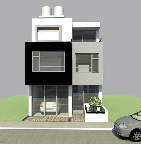 Se vende casa de dos pisos y altillo o partamentos otras for Fachadas de casas de 2 pisos pequenas
