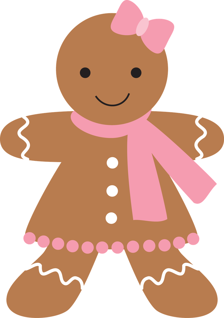 biscoito feminino cha de bebe pinterest gingerbread clip art rh pinterest co uk gingerbread man clipart free gingerbread man clipart borders