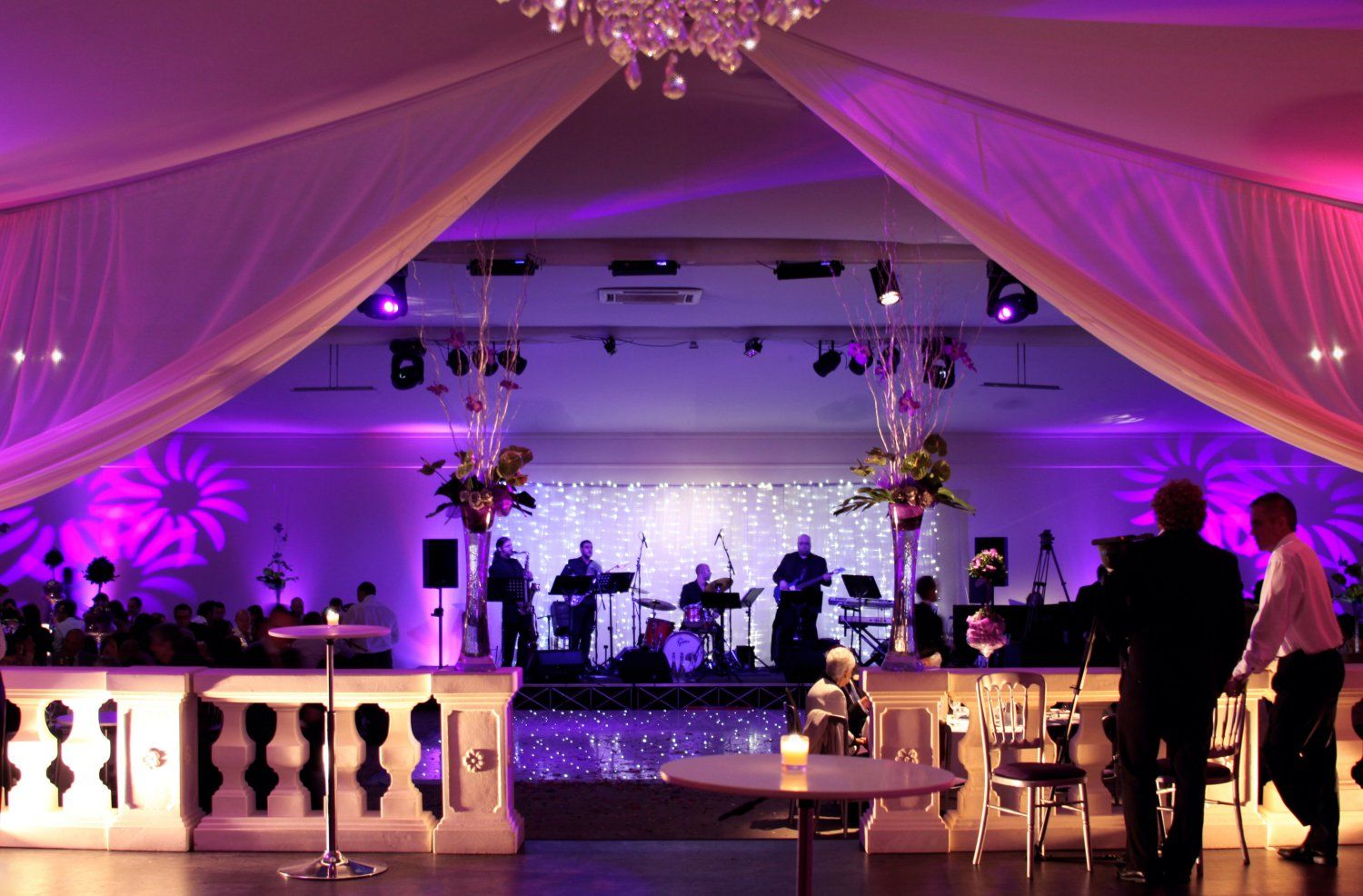 marquee lighting. Marquee Lighting With Stage And White Backdrop O