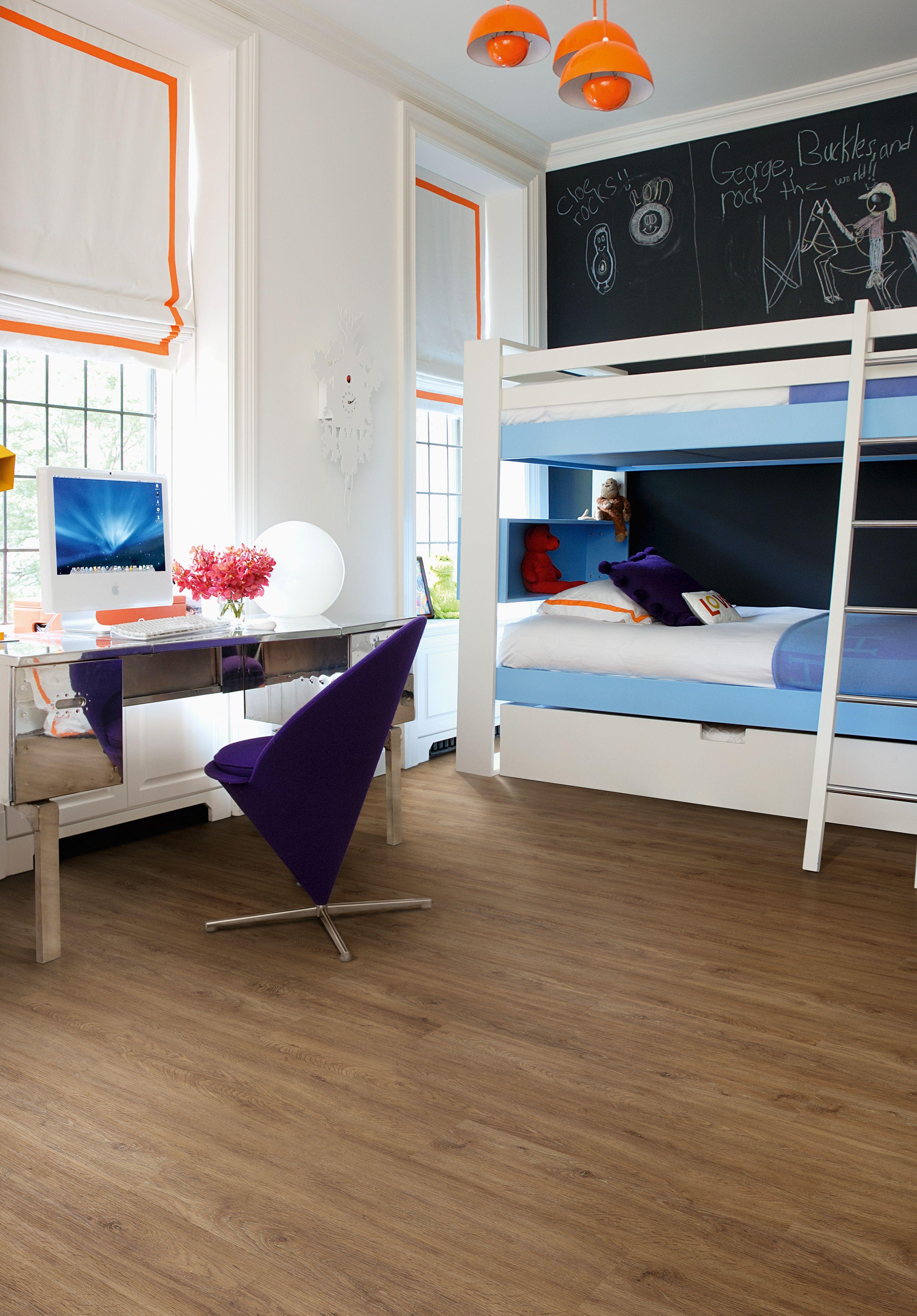 Kids Bedroom Vinyl Flooring stylish yet functional kids bedroom in laurel dark oak | camaro