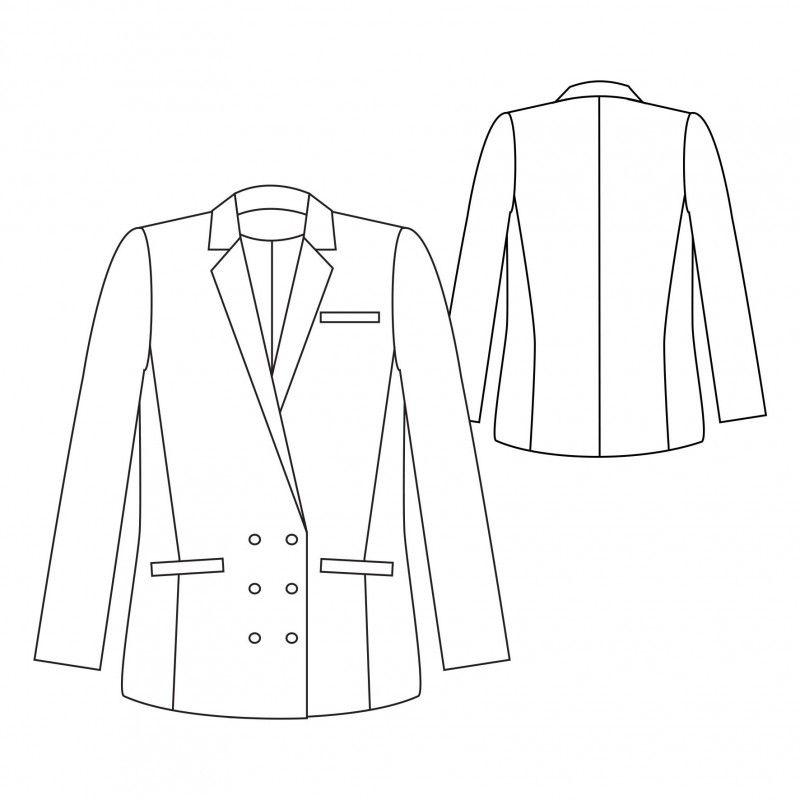FRANCOISE Jacket | Sewing | Pinterest