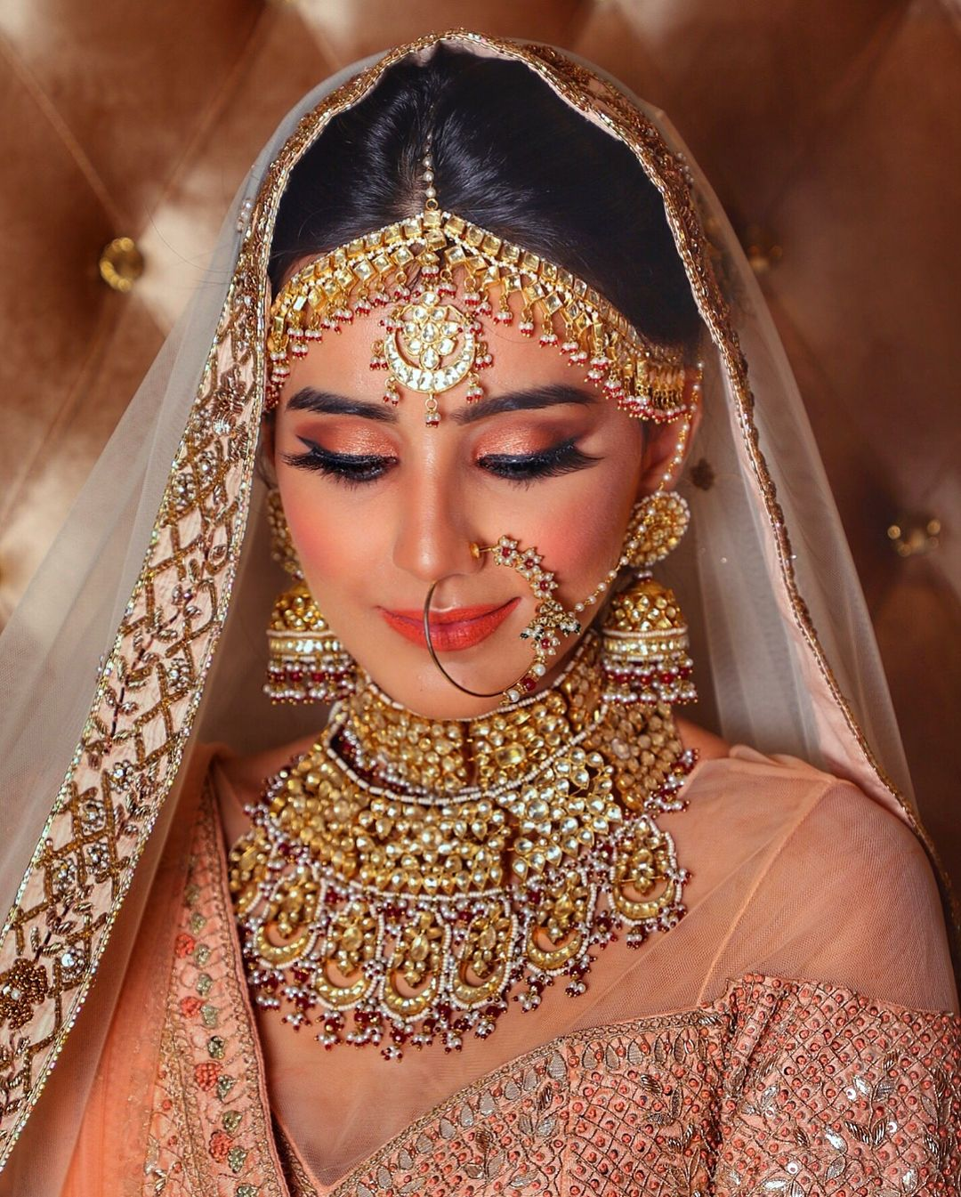 THE GRAND BRIDAL LOOK of this Stunning Beauty and Talented