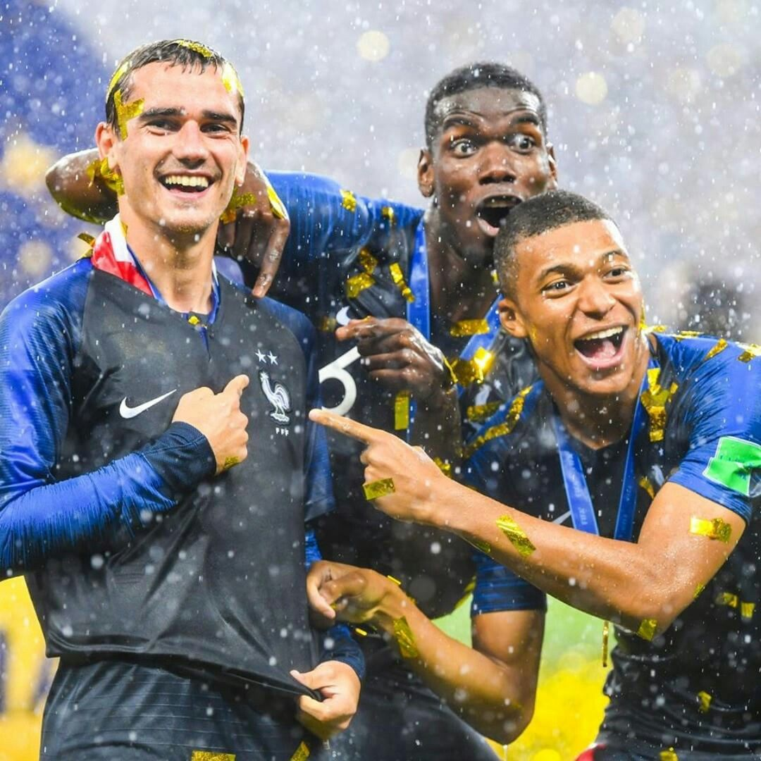 Russia 2018 France Fifa World Cup Winners 1st Place Gold Soccer World Cup 2018 Soccer World World Sports News