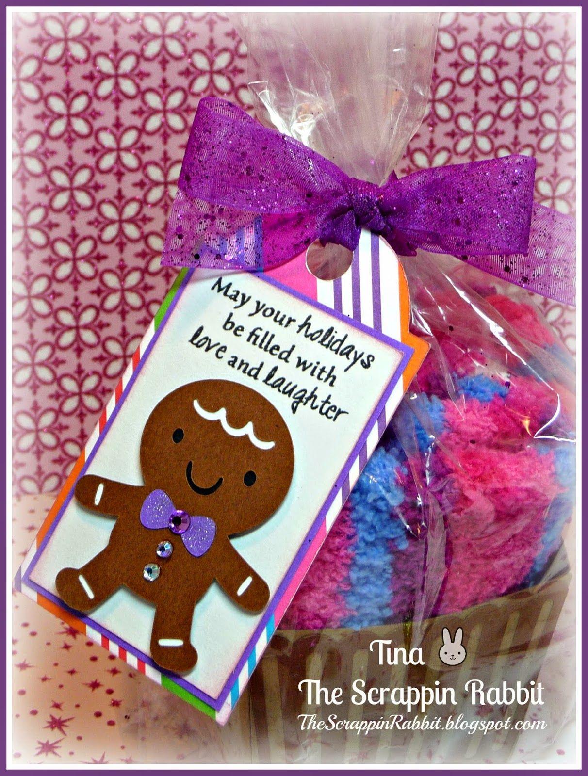 The Scrappin Rabbit: Gingie Sock Cupcake