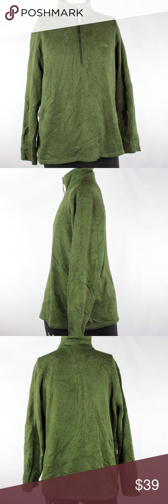 Mens Quarter Jacket Large Zip The North Face Rn61661 Ca bf76Yyg