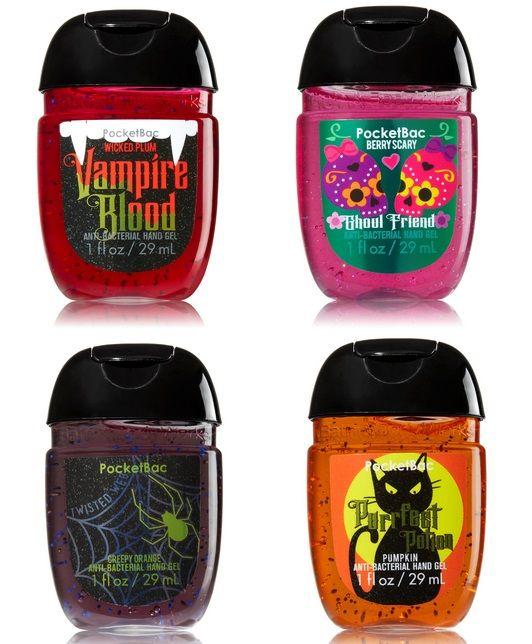 Bath Body Works Halloween 2015 Pocketbac Holders Hand Gels New