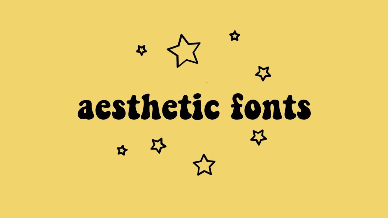 Download aesthetic fonts ✧ - YouTube | Aesthetic writing ...