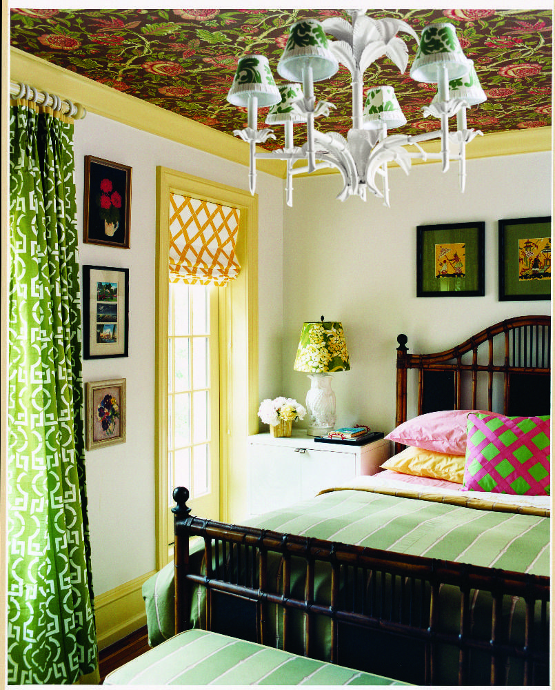 Small guest bedroom. Piling on the Patterns on domino.com | house ...