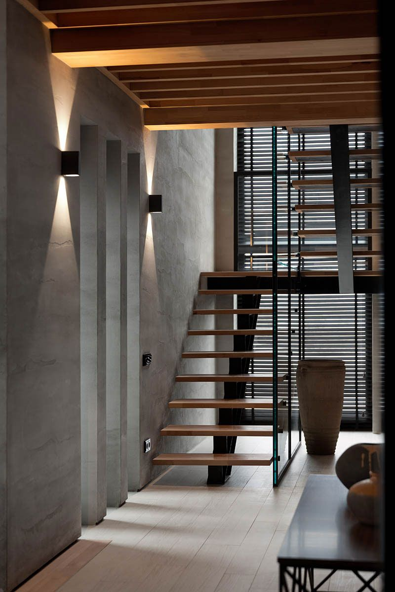 Home interior design staircase two levels by nott design  staircases interiors and office workspace