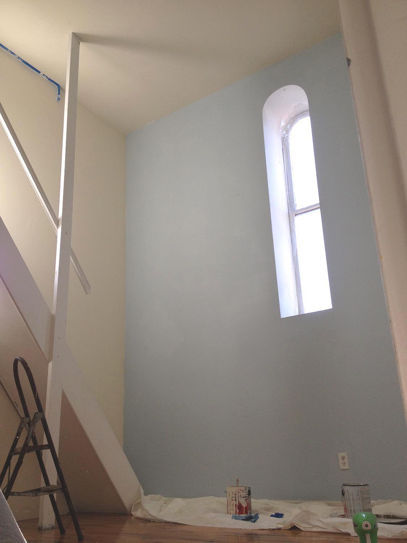 Brooklyn Remodeling Painting painting bedroom wall, martha stewart ice rink | brooklyn bell