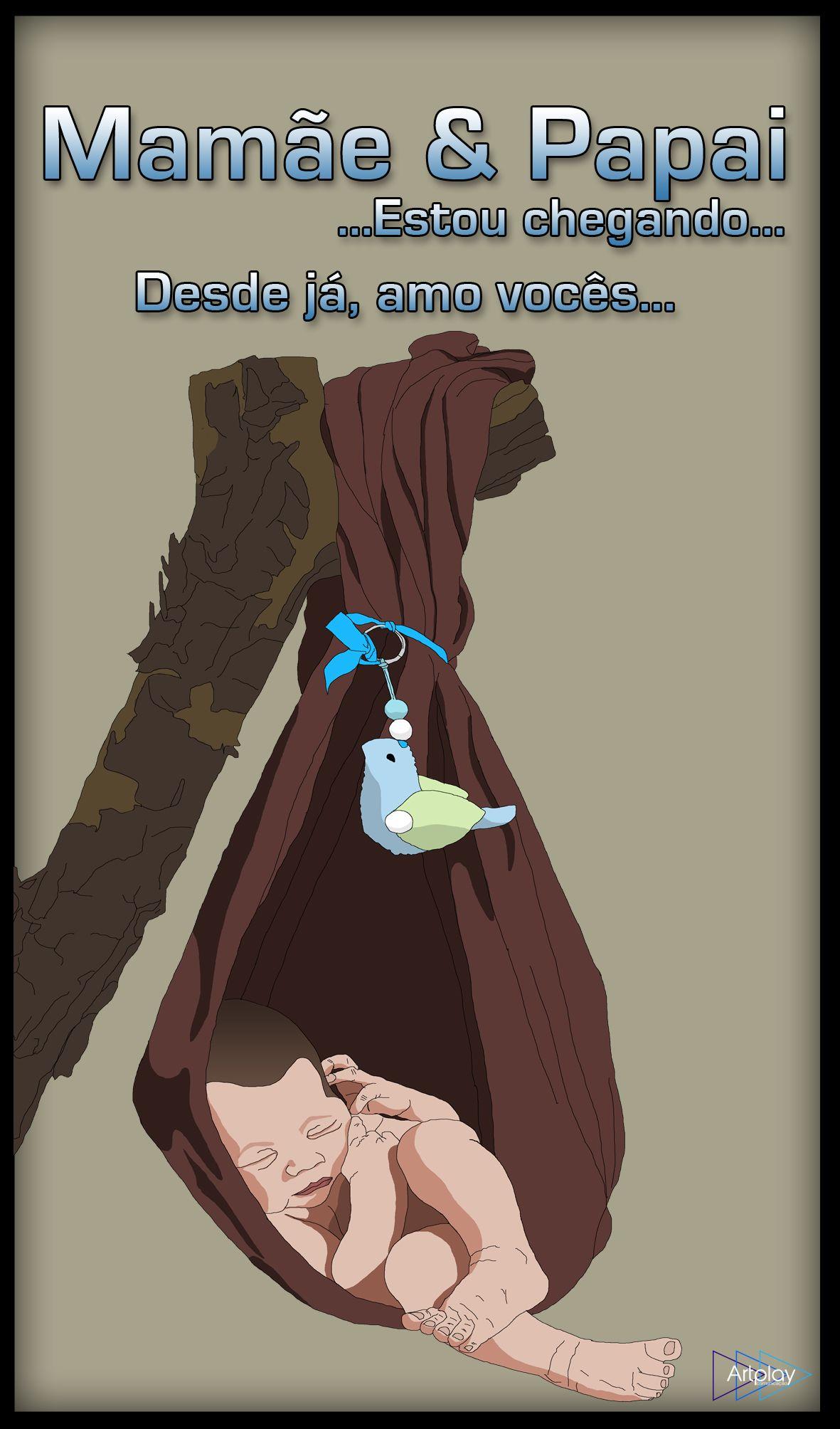 Desenho e Ilustração Bebe.