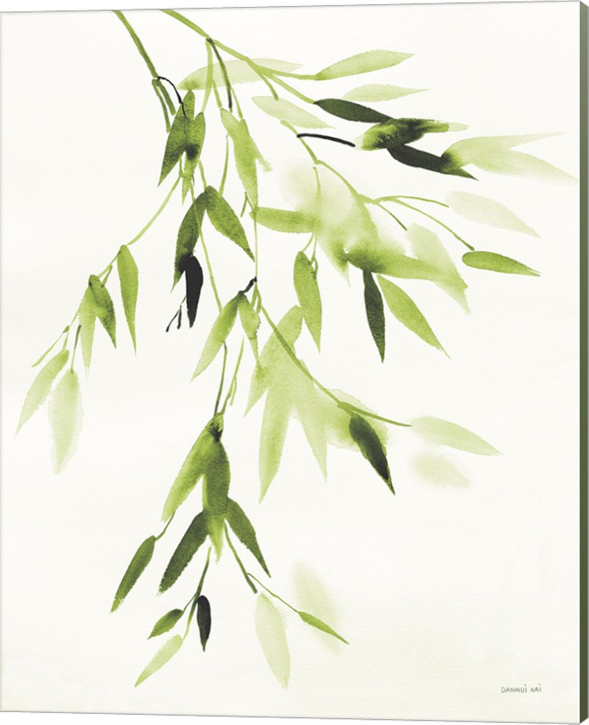 Bamboo Leaves Iv By Danhui Nai Canvas Art Multi With Images