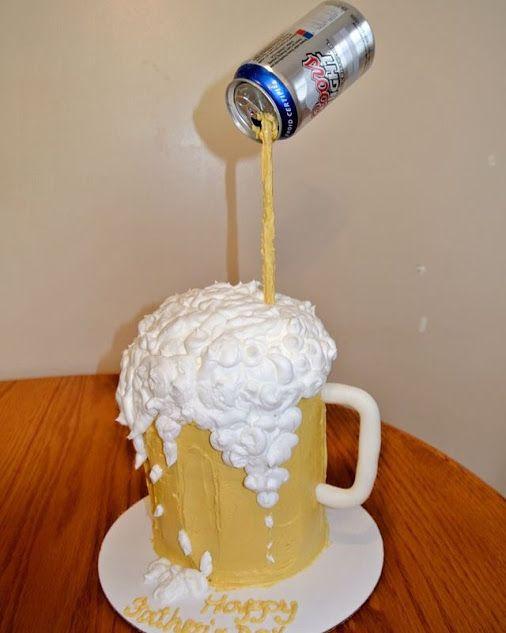 Google Lustige Torten Geburtstag Torte Junge Bierkuchen