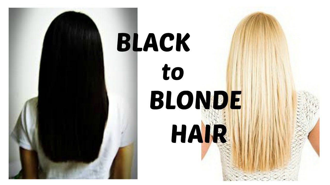 How To Bleach Black Hair Blonde Blonde Hair Dyed Black Bleaching Your Hair Dyed Blonde Hair