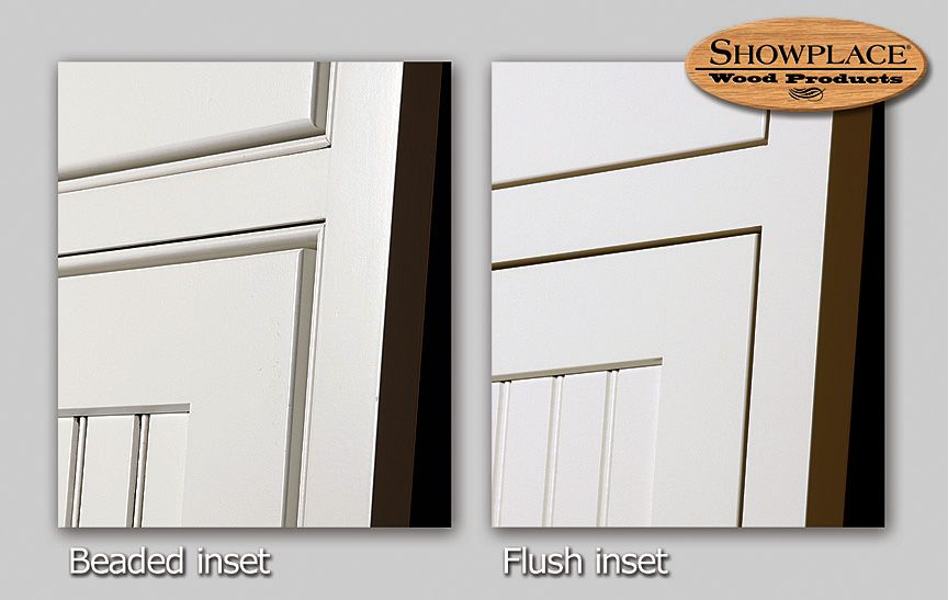 Inset Cabinets:beaded Vs Non Beaded Flush Inset