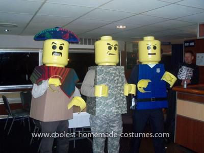 lego costumes lego costumes homemade lego men halloween - Homemade Men Halloween Costumes