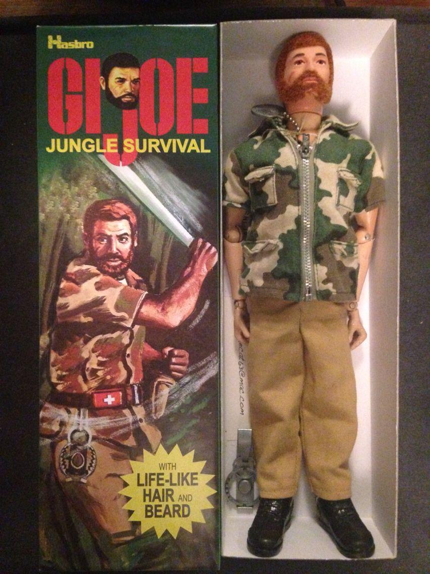 Australia Vintage 1970s GIJOE Action Man Jungle Survival with HASBRO Adventurer RARE Kenbrite