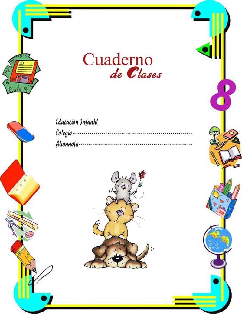 Imagenes infantiles para caratulas carpetas cuadernos - Marcos para laminas grandes ...