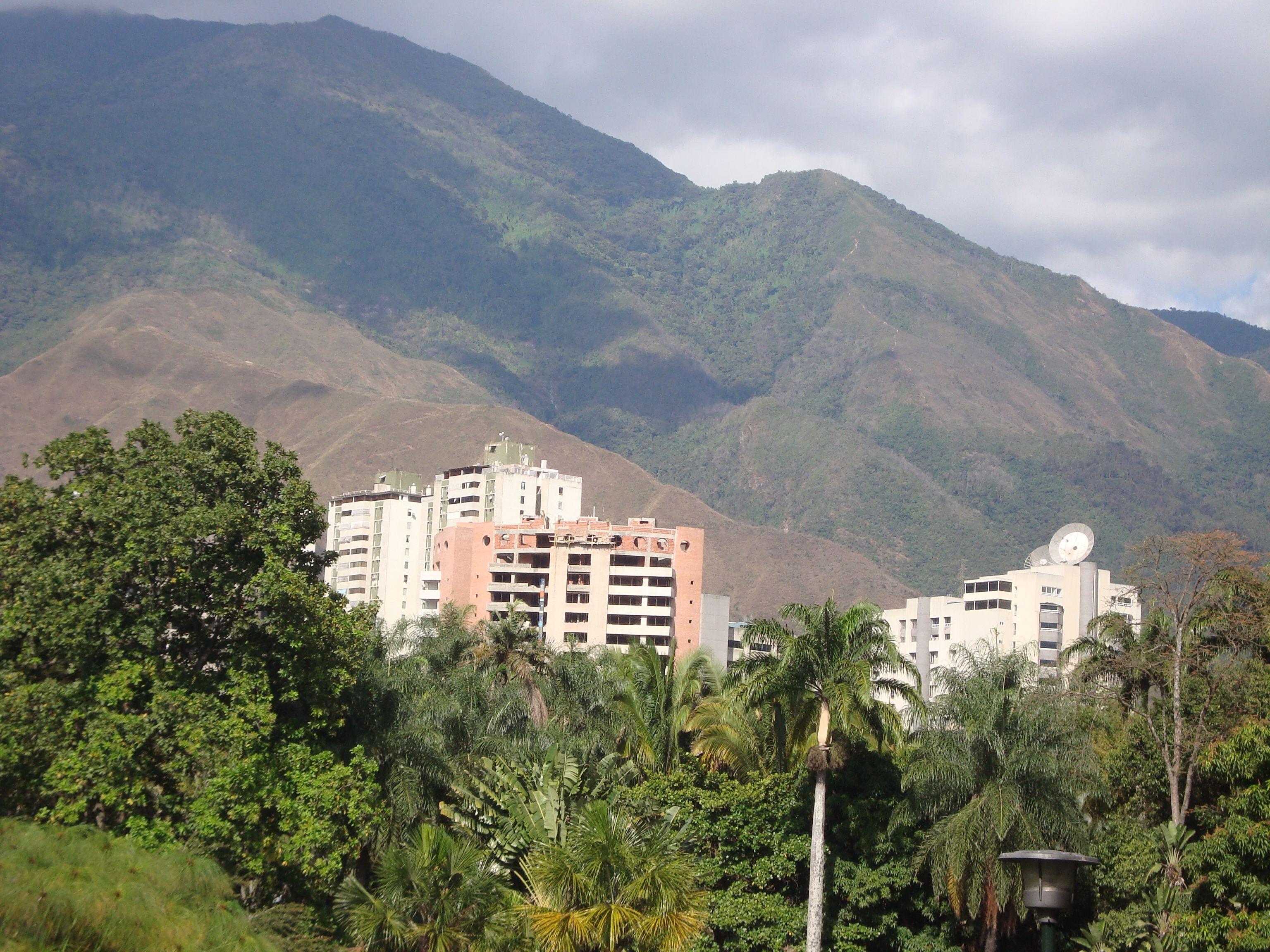 Vista Cerro El Avila-Caracas