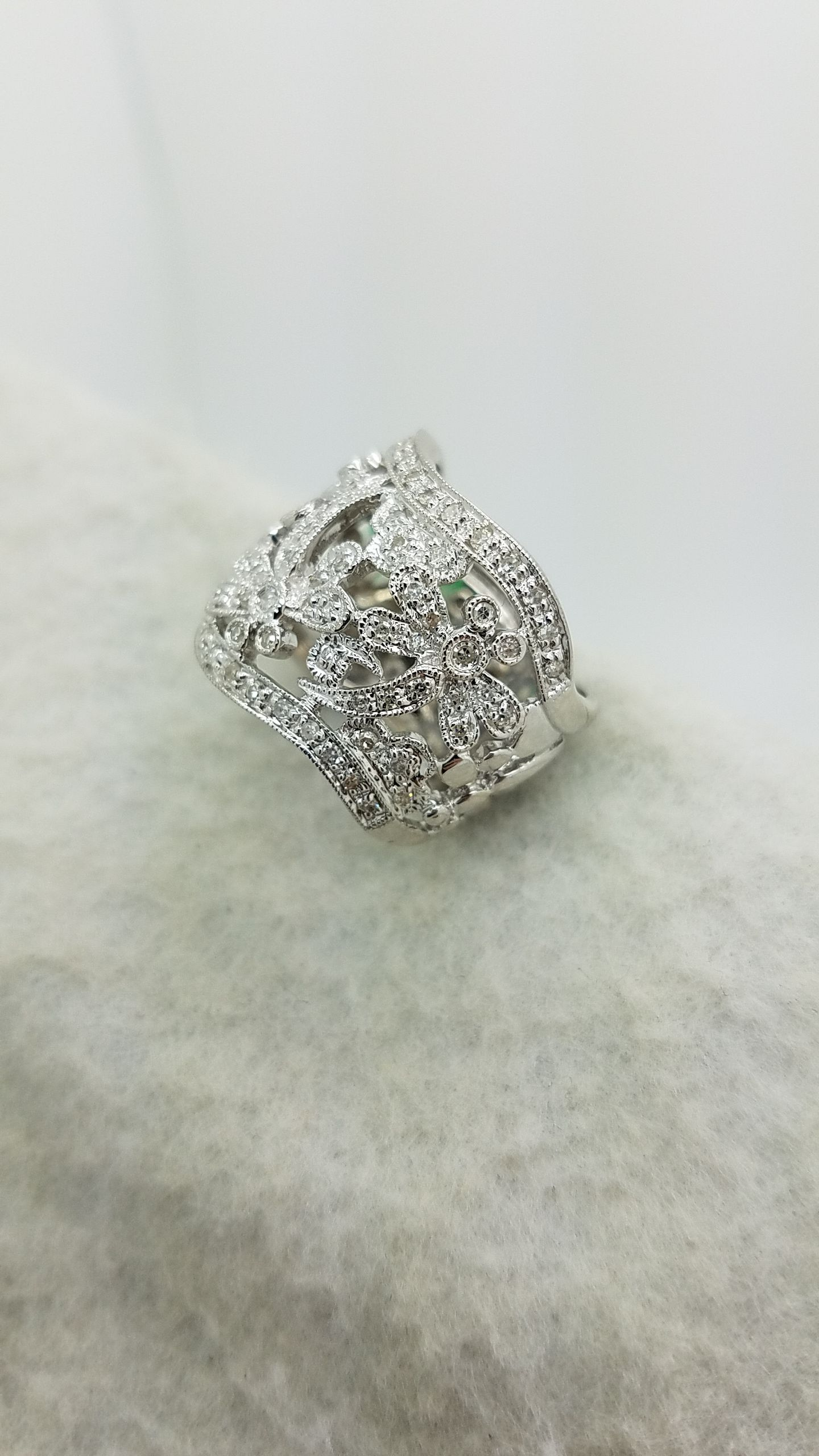 diamond walmart over engagement dragonfly accent sterling gold ip ring rings com silver