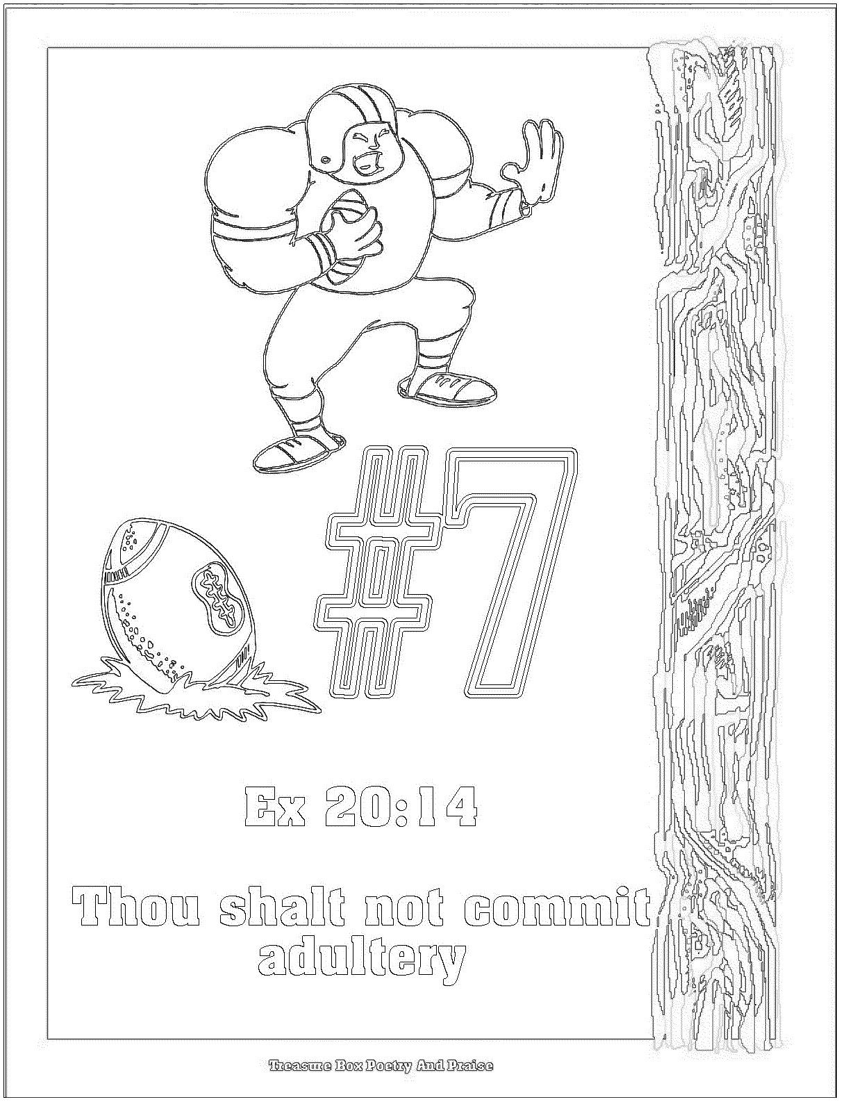 Ten Commandments Coloring Pages Luxury Children S Gems In ...