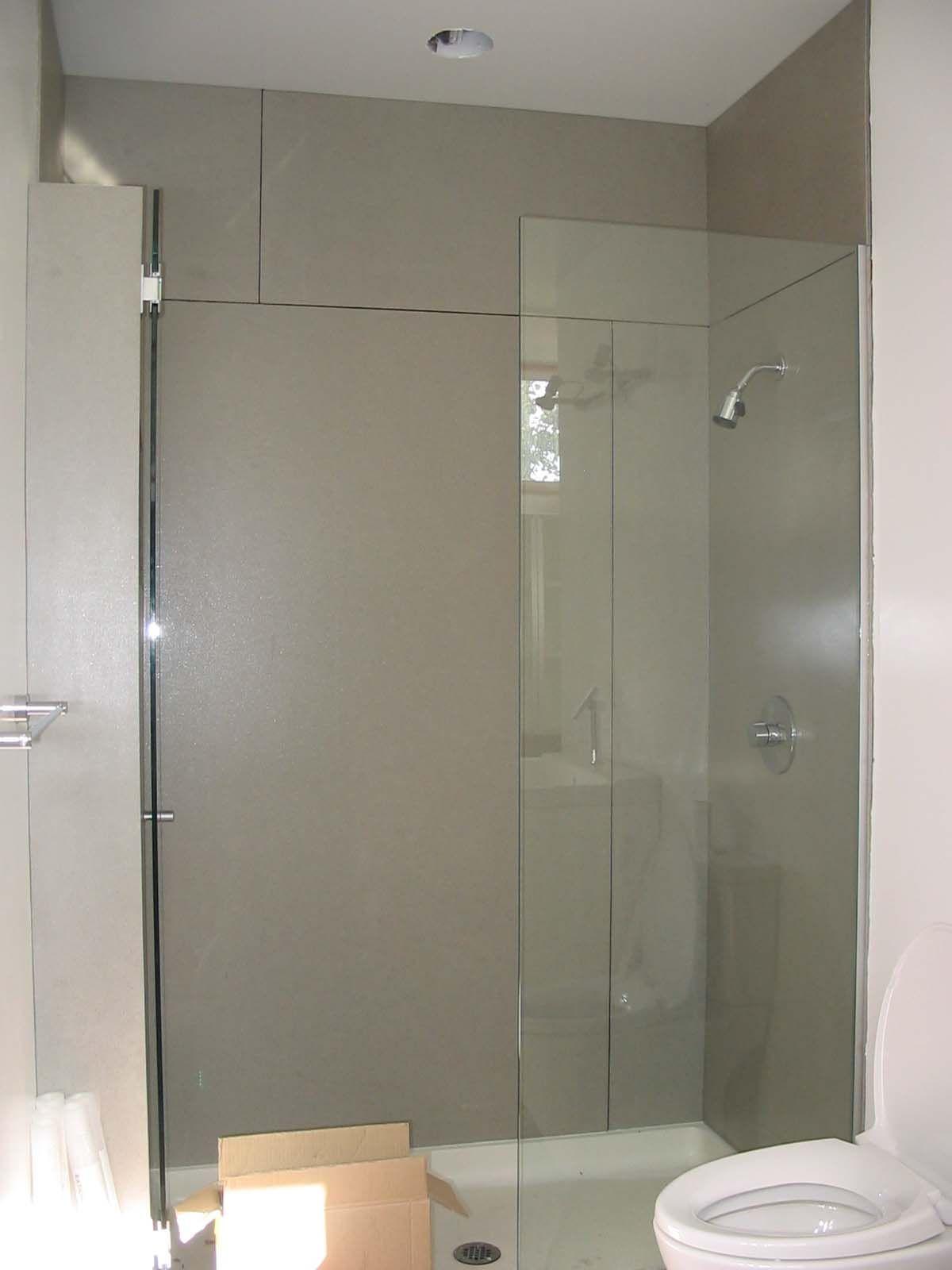 Concrete Shower Walls Any Suggestions Bathroom Redo