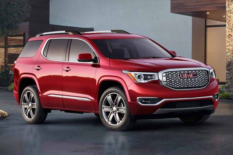 2017 Gmc Acadia Price Engine Interior Exterior Chevrolet Traverse Acadia Denali Gmc