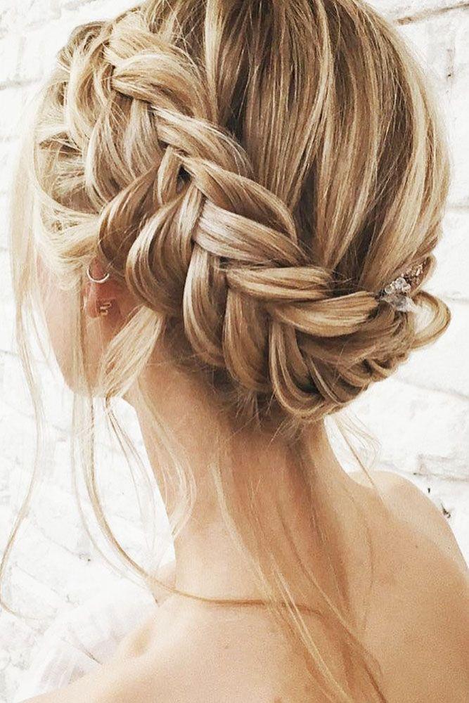 Top 30 Ideas Of Wedding Updos For Medium Hair Wedding Forward Short Hair Tutorial Braided Hairstyles Easy Braided Hairstyles