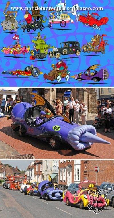10 macchine reali ispirate a quelle dei cartoni animati auto