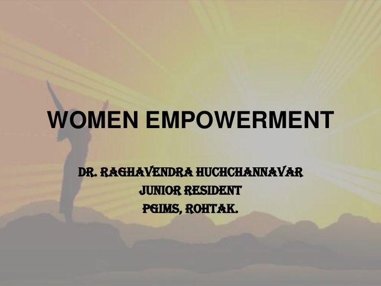 Women Empowerment Short Essay On