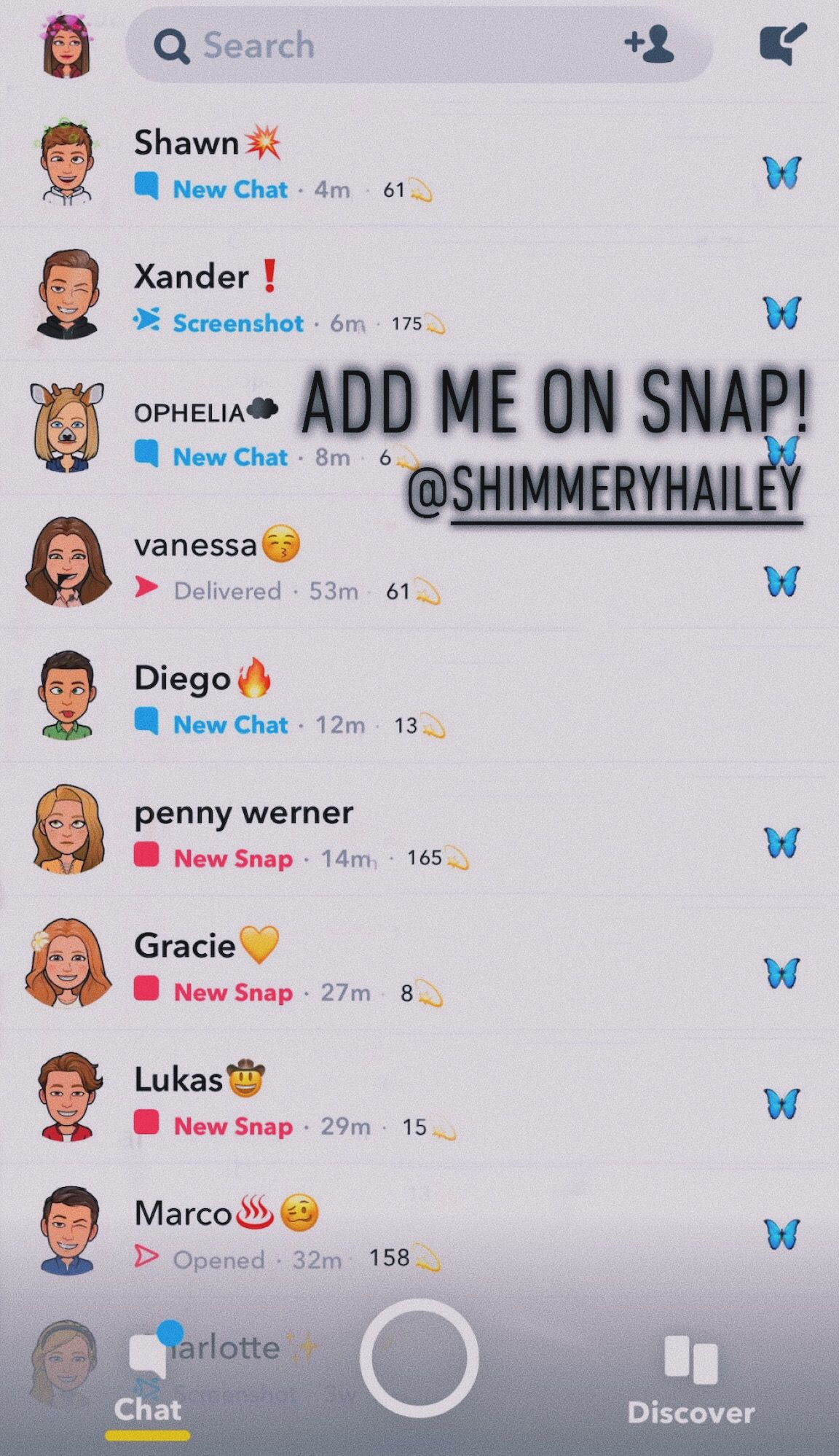 Haileycintron Cute Names For Boyfriend Snapchat Names Snapchat Best Friends