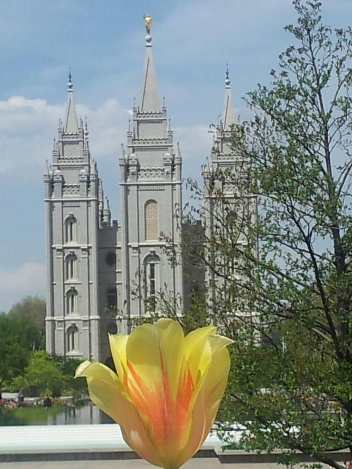 Temple Square in Utah