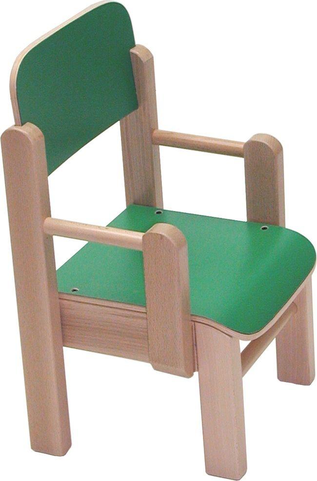 Sillón infantil Guay de madera para guarderías y escuelas infantiles ...