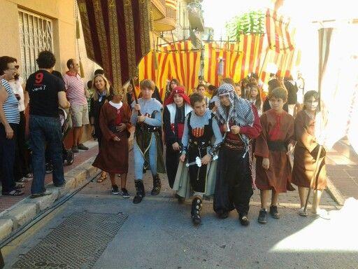 9 d'octubre Desfile infantil