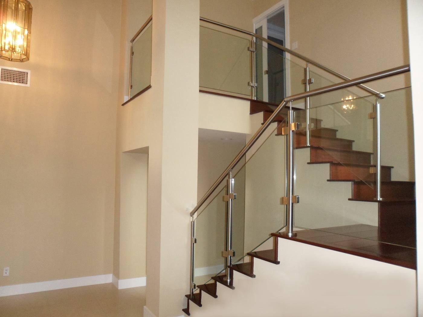 Best Modern Glass Stainless Staircases Miami Stairs Glass 640 x 480
