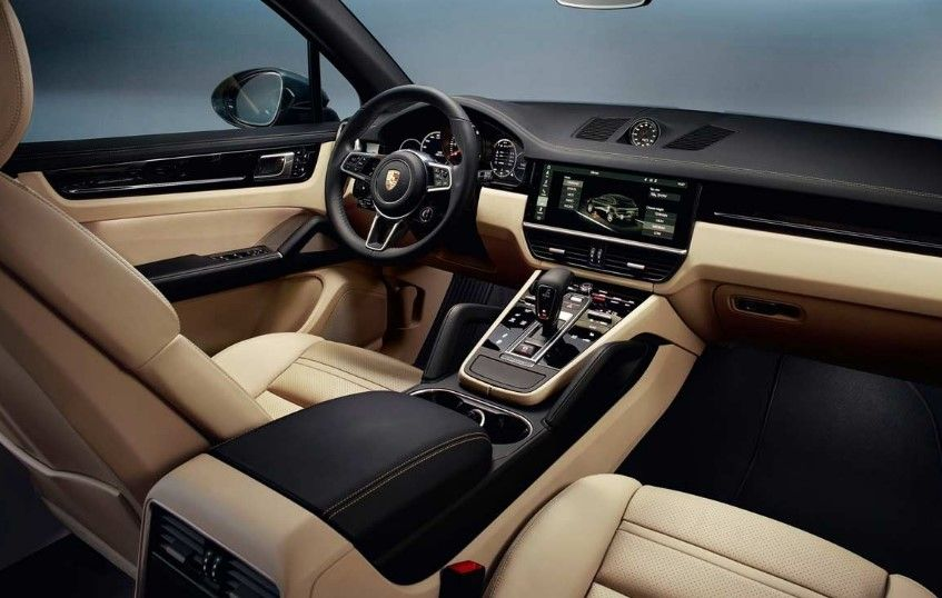 New 2020 Porsche Cayenne Interior