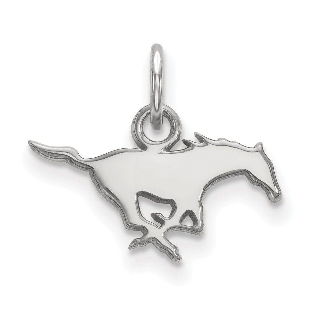 Sterling Silver LogoArt Southern Methodist University XS Pendant