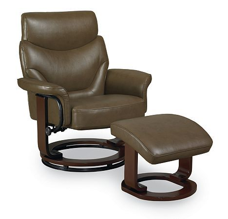 Enzo Reclining Chair and Ottoman from the Reclining Furniture collection by Lane Furniture