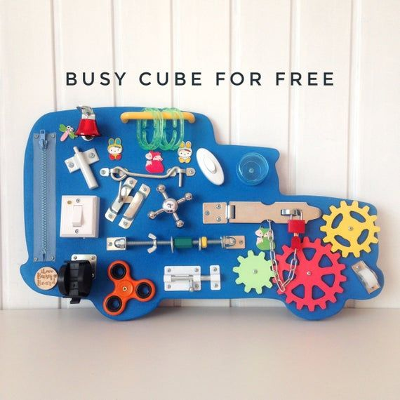 Photo of Toy car busy board, Toddler busy board, Sensory play, Montessori toy, 1st Birthday gift, Toy for tod