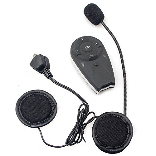 V5 Interphone Motorcycle Helmet Bluetooth Intercom Headset ...