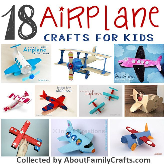 957d513f5 18 Airplane Crafts for Kids | About Family Crafts | Simple Crafts ...