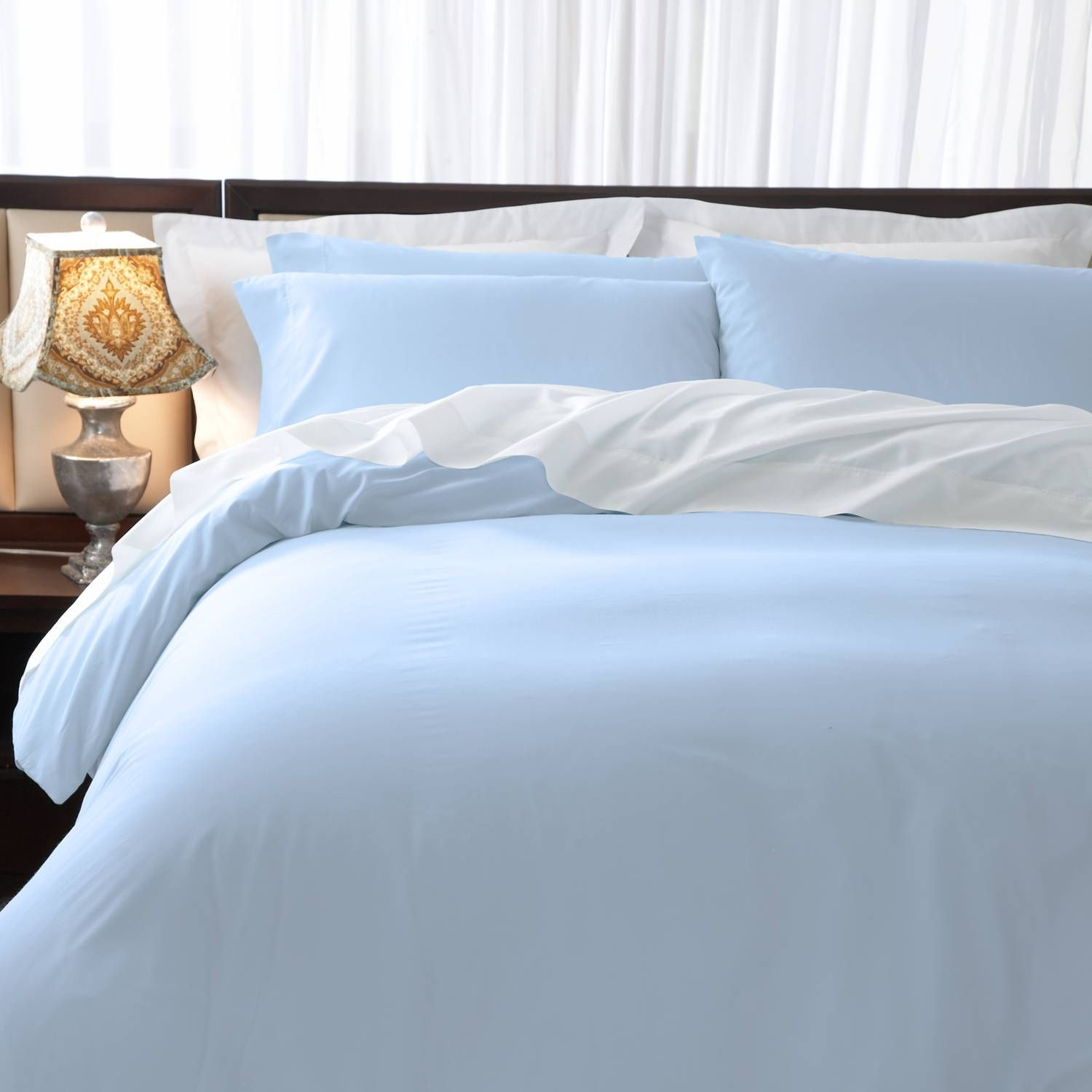 Difference Between Duvet And Comforter Light Blue Rooms Light Blue Comforter Pintuck Duvet Cover