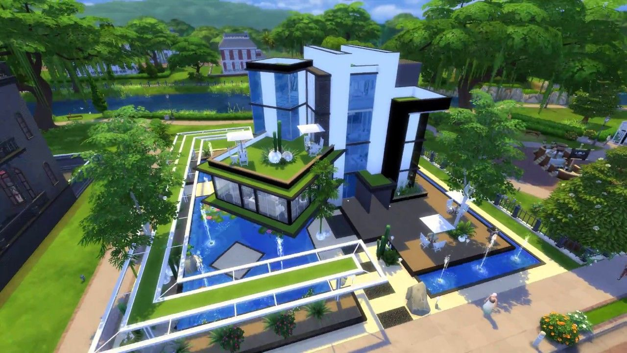 Sims 4 Full Billionaire House Tour 1080p House Tours House Styles Mansions