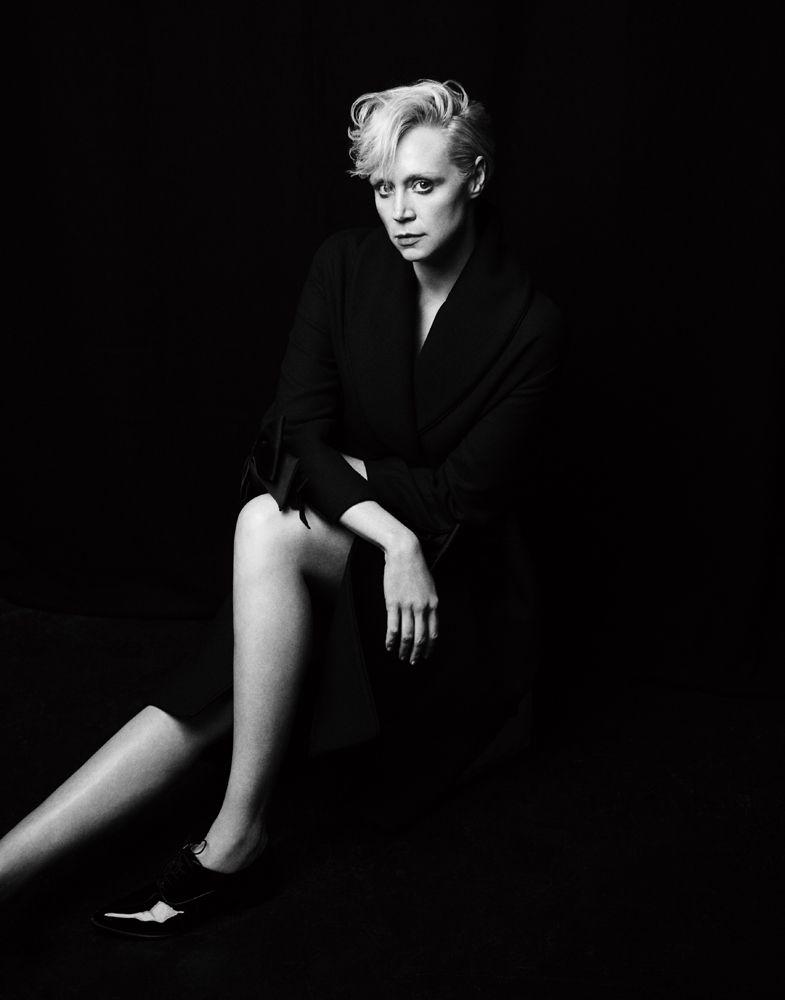 Fashiontography: Gwendoline Christie by Matt Holyoak ...