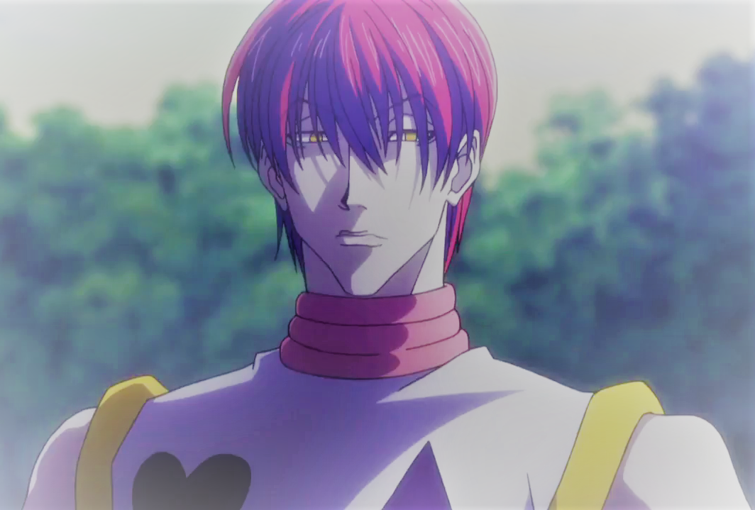 Hisoka S Worst Haircut During Sunrise Hisoka Anime Anime Boy