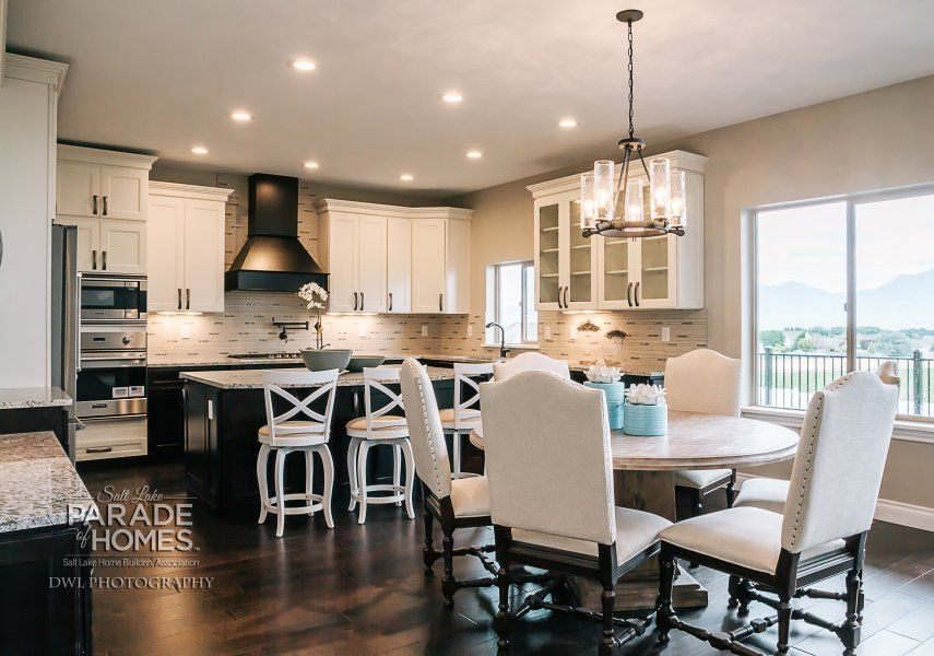 Dining room/kitchen - Custom Craft Homes #19 | Home ...