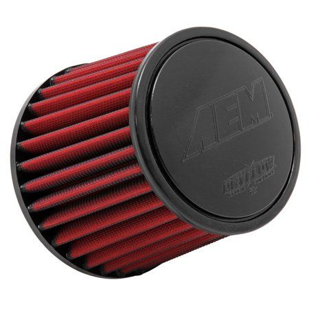 AEM 21-204DK Universal DryFlow Clamp-On Air Filter Round Tapered